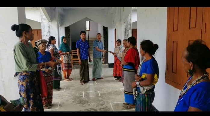 Financial Assistance by AKS on COVID-19 crisis