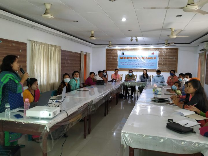 Round Table Conference with Headmen, Karbari and Women in Bandarban